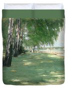 The Garden Of The Artist In Wannsee Duvet Cover