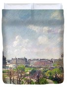 The Garden Of The Tuileries Duvet Cover
