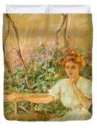 The Garden Seat 1911 Duvet Cover