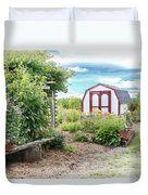 The Garden Shed Duvet Cover