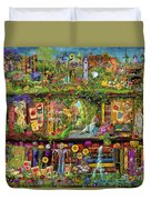 The Garden Shelf Duvet Cover