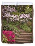 The Garden Steps Duvet Cover