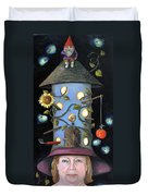 The Gardener Duvet Cover by Leah Saulnier The Painting Maniac