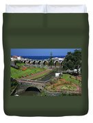 The Gardens Of Ribeira Grande Duvet Cover