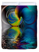 The Gate Across The Water Duvet Cover
