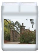 The Gate At Boone Hall Duvet Cover