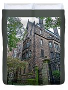 The Gates Of Yale Duvet Cover