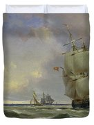 The Gathering Storm Duvet Cover