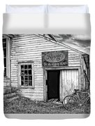 The General Store Bw Duvet Cover