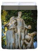 The Genius Maria Luisa Park Seville Spain Duvet Cover