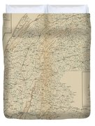 The Gettysburg Campaign - American Civil War Duvet Cover