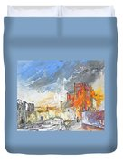 The Ghost Of Religion In Spain Duvet Cover