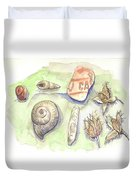 The Gifts Of The Mountain River Duvet Cover