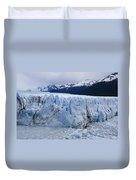 The Glacier Advances Duvet Cover
