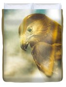 The Glass Case Eagle Duvet Cover