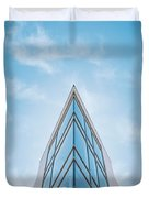 The Glass Tower On Downer Avenue Duvet Cover