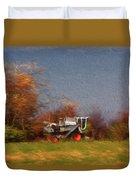 The Gleaner In Repose Duvet Cover