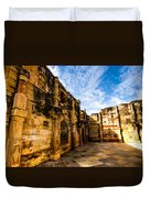 The Glorious Ruins Duvet Cover