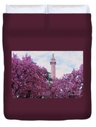 The Glory Of Spring In Mount Vernon Place, Baltimore Duvet Cover