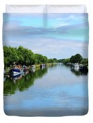 The Gloucester And Sharpness Canal Duvet Cover