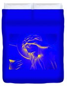 The Glow Of Christ Duvet Cover by Mike McGlothlen