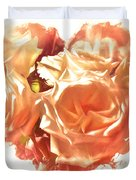 The Glow Of Roses Duvet Cover