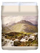 The Glyder Fawr  Duvet Cover