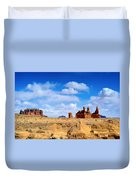 The Goblin Valley Duvet Cover