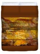 The Gold Light Duvet Cover