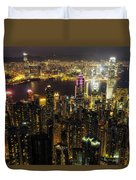 The Golden City Duvet Cover