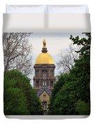 The Golden Dome Duvet Cover