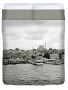The Golden Horn Duvet Cover