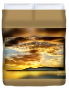 The Golden Hour Duvet Cover