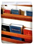 The Good Books Duvet Cover