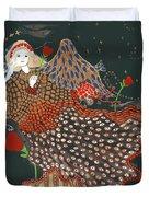 The Good Night Angel Duvet Cover