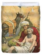 The Good Samaritan Duvet Cover