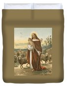 The Good Shepherd Duvet Cover by John Lawson