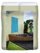 The Gordons Fisherman House Duvet Cover