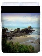 The Gorgeous Northwest Pacific Coastline Duvet Cover