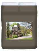 The Gothic Temple In Spring Grove Cemetery Duvet Cover