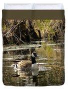 The Graceful Goose Duvet Cover