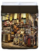 The Grand Bazaar In Istanbul Turkey Duvet Cover