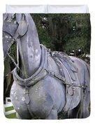 Horse At The Grand Oaks Resort Duvet Cover