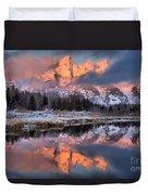 The Grand Teton Duvet Cover