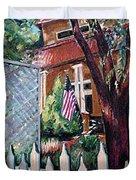 The Grant House Duvet Cover