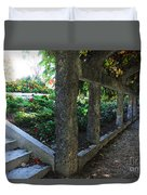 The Grape Arbor Path Duvet Cover