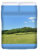 The Grass Is Always Greener Duvet Cover