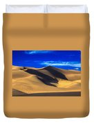 The Great Dunes National Park Duvet Cover