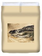 The Great Alligator Duvet Cover