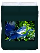 The Great Blue Duvet Cover